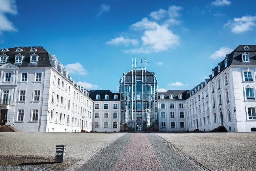 Im Saarbruecker Schloss befindlich: das Historische Museum Saar