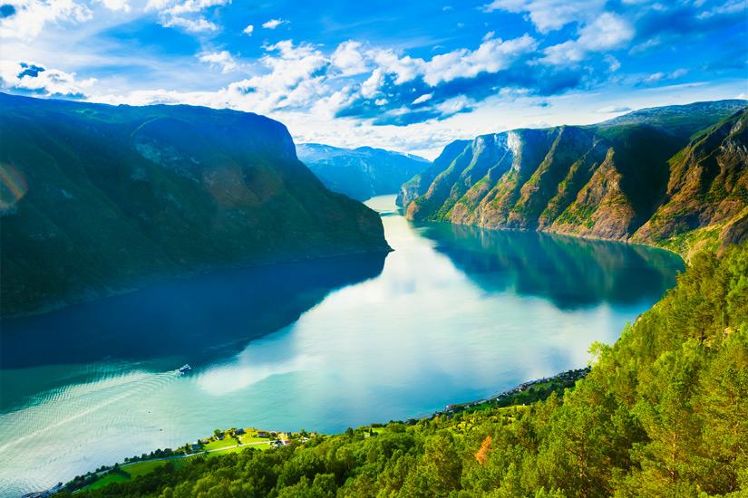 Sognefjord-Norwegen