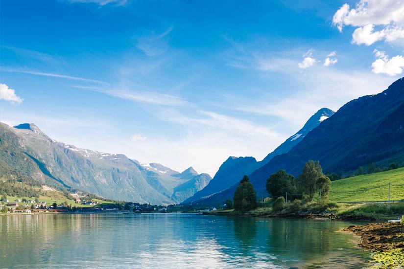 Nordfjord-Norwegen
