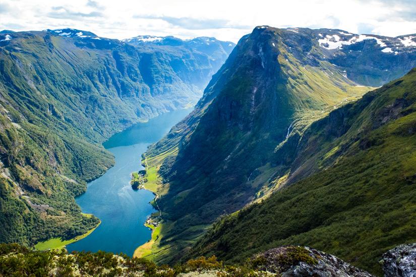 Naeroyfjord-Norwegen