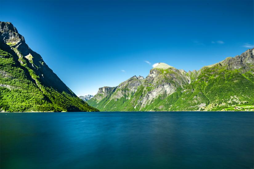 Hjorundfjord-Norwegen