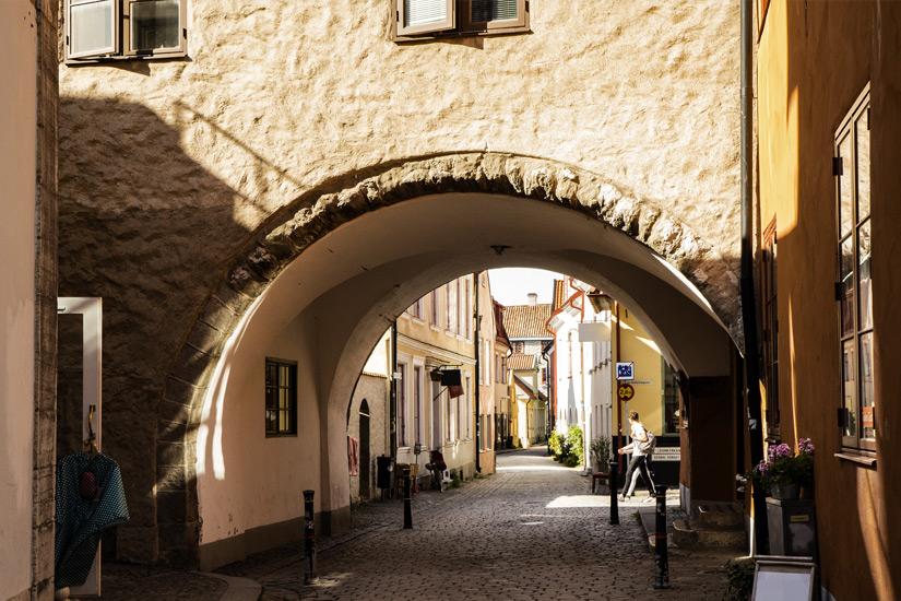 Altstadtgasse in Visby