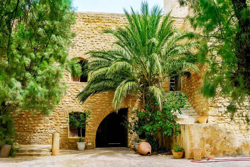 Im Inneren der Kasbah