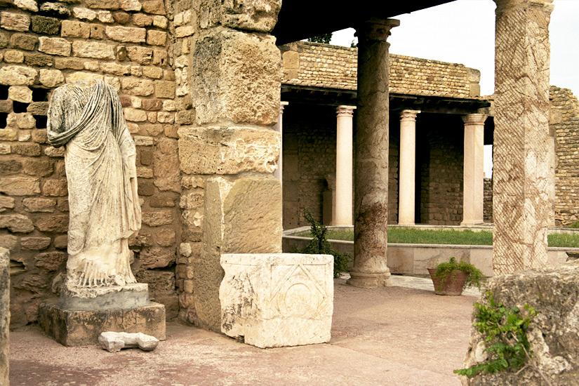 Karthago Ueberbleibsel aus der Antike