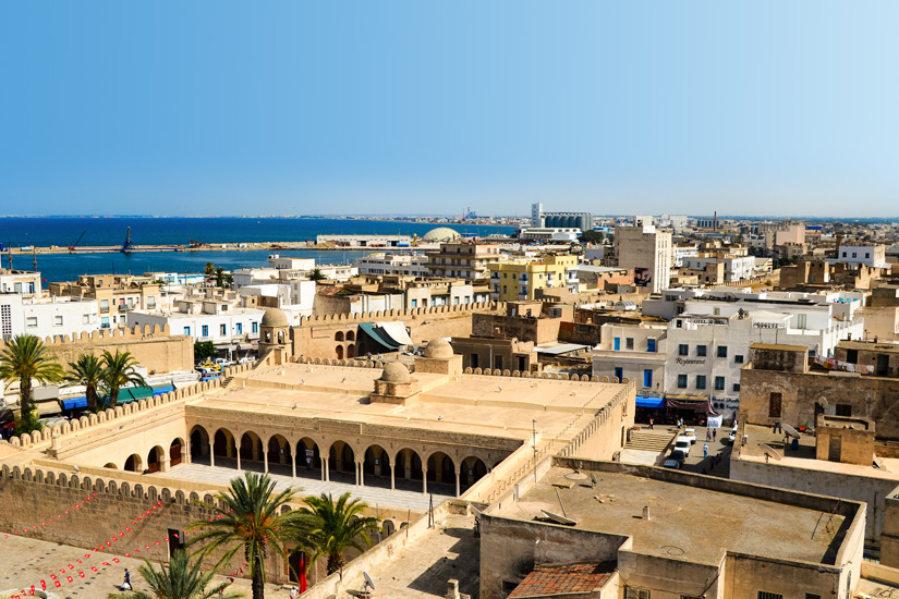 Grosse Moschee in Sousse