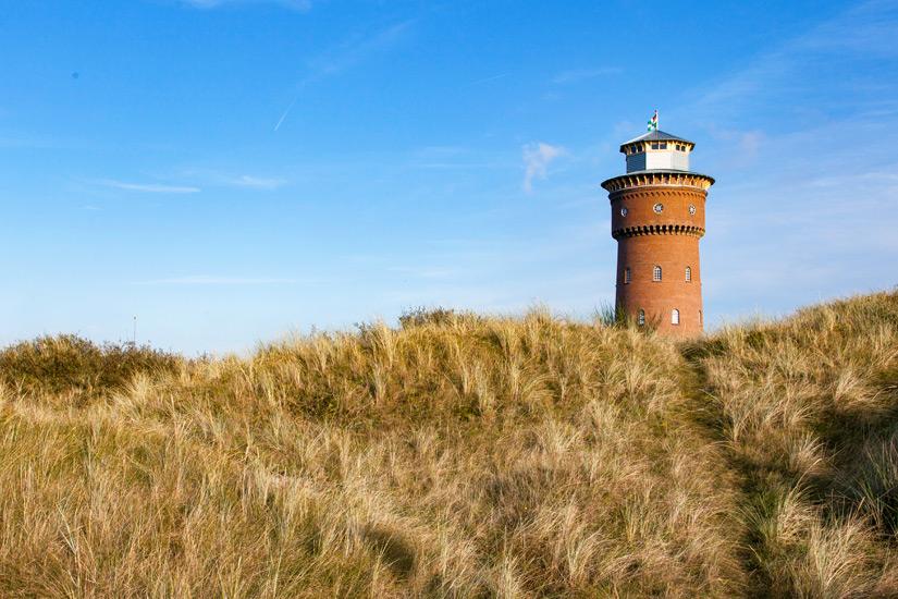 Der Borkumer Wasserturm