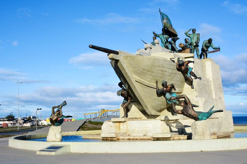 Denkmal in Punta Arenas