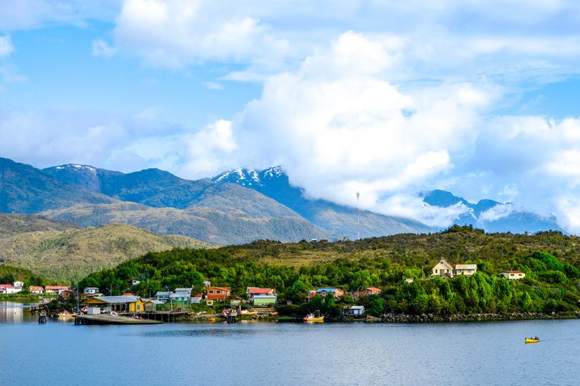 Blick auf Puerto Natales