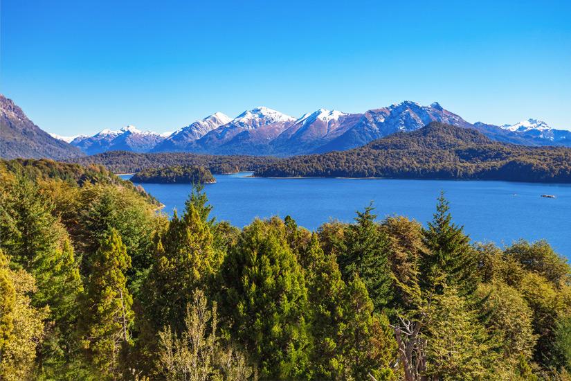 Patagonische Landschaft bei Bariloche
