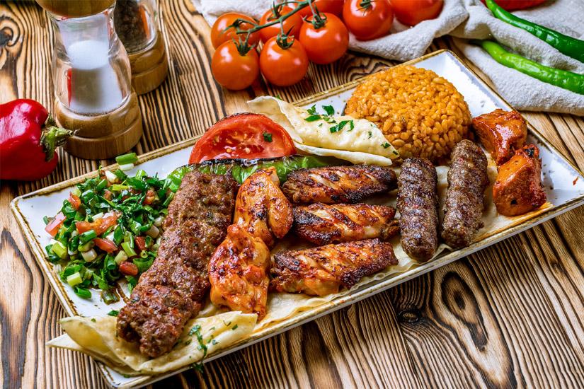 Kebab-Lammfleisch
