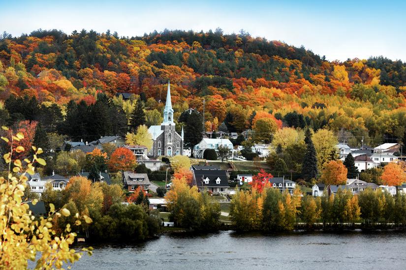 Herbst in Quebec