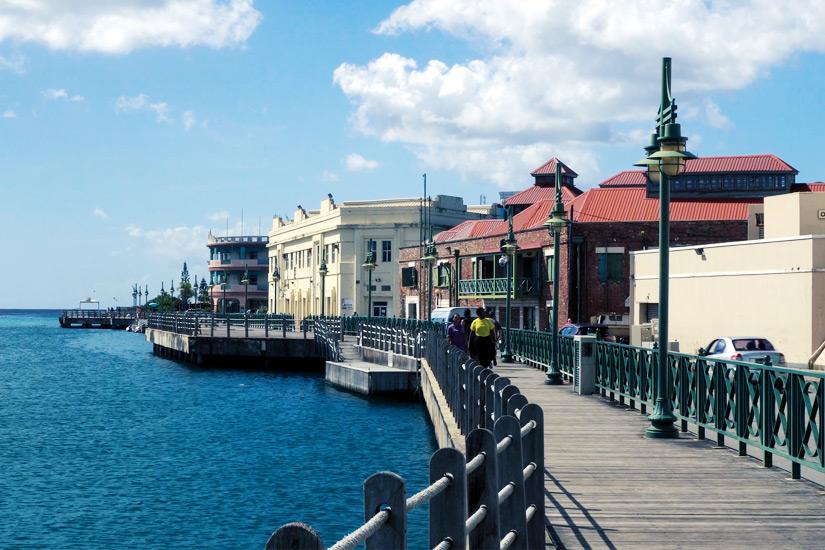 Hafenpromenade-in-Bridgetown