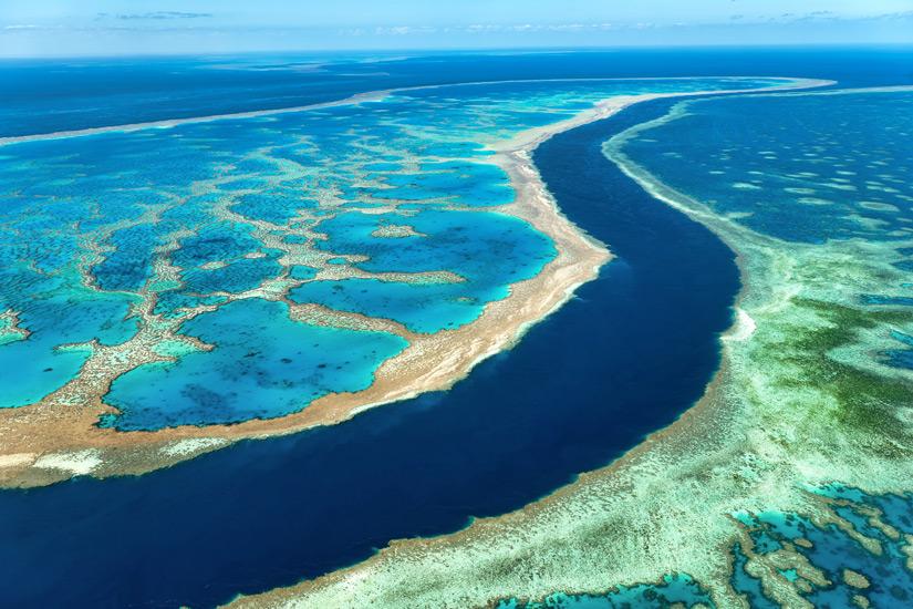 Das-Great-Barrier-Reef-aus-der-Luft