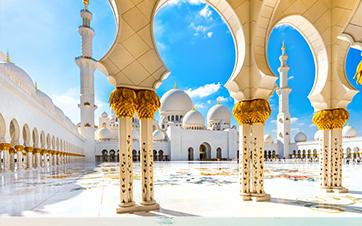 Scheich-Zayid-Moschee-Abu-Dhabi