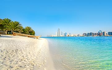 Strand-Abu-Dhabi