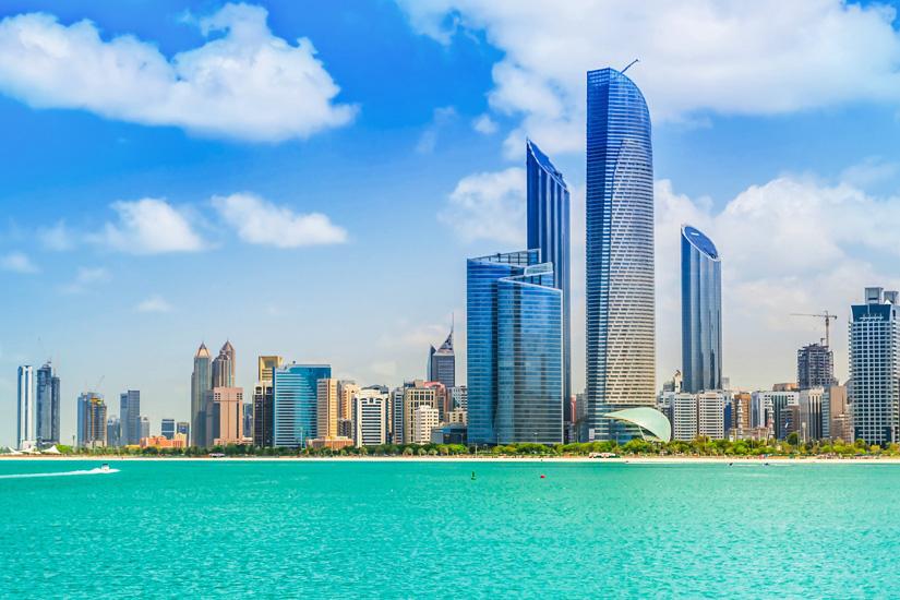 Skyline-von-Abu-Dhabi