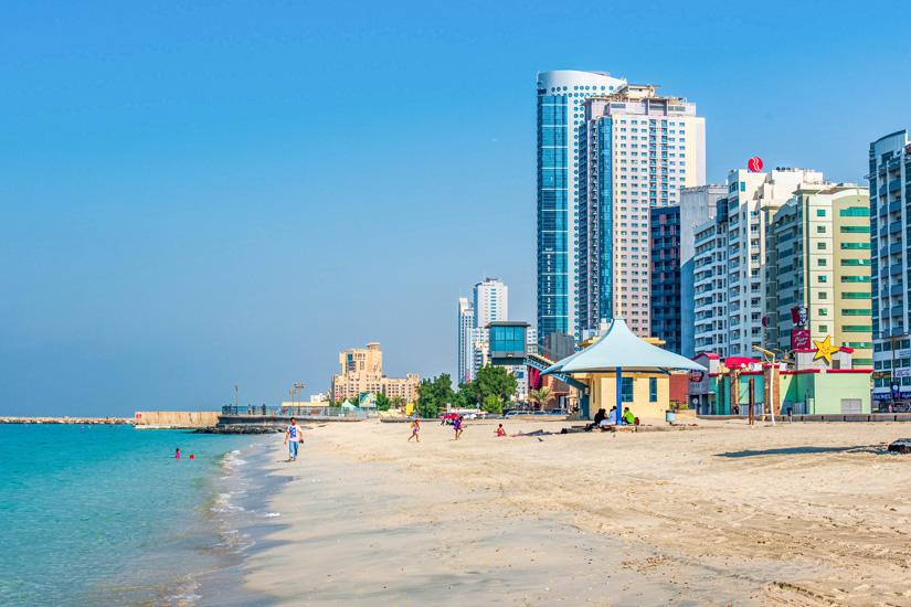 Corniche-Beach-in-Ajman