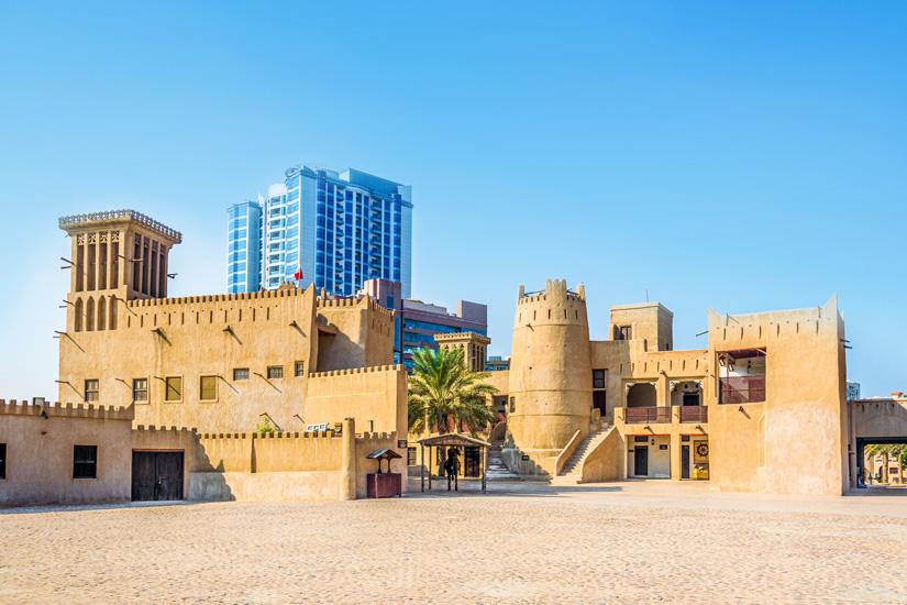Heute-ein-Museum-Ajman-Fort