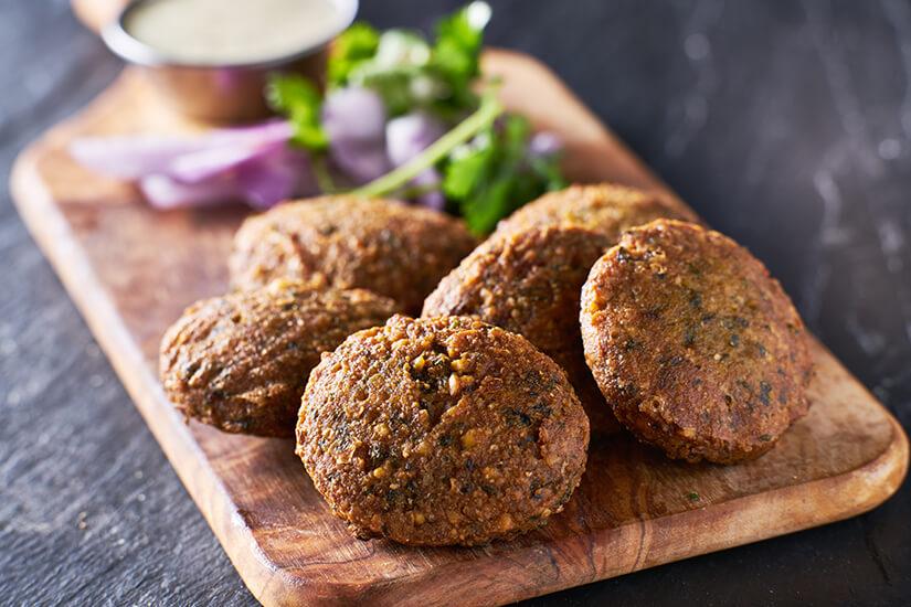 Frittierte-Kichererbsten-Falafel