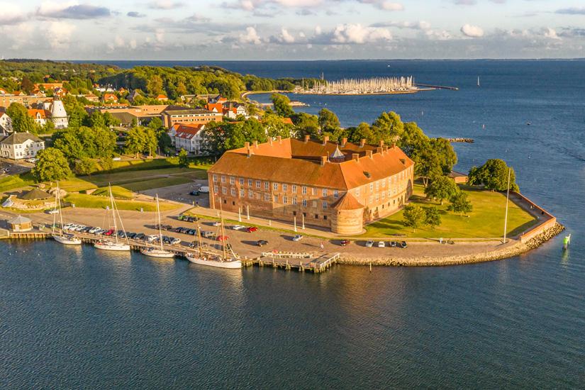 Luftbild-von-Sonderborg-Slot