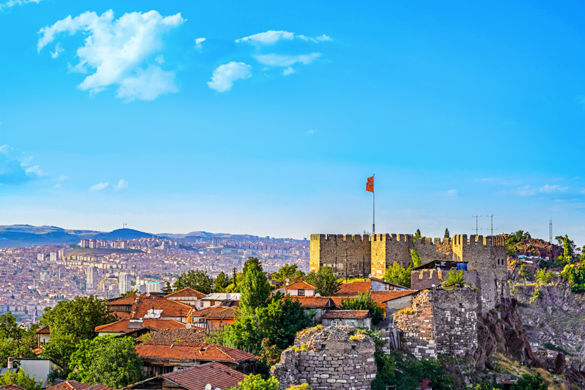 Die-Zitadelle-in-Ankara