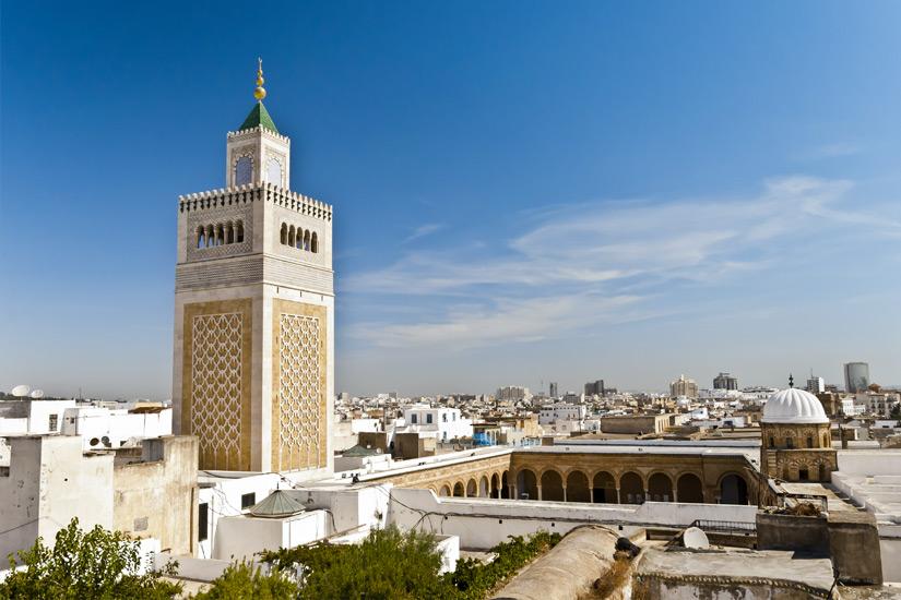 Die-Djamaa-Ez-Zitouna-Moschee-in-Tunis