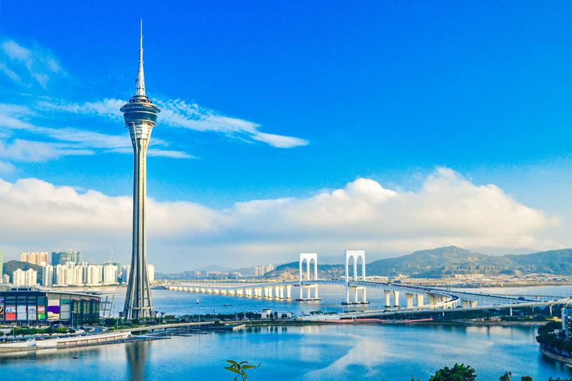 Der-338-m-hohe-Macau-Tower
