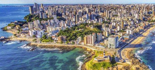 Brasilianisches Salvador de Bahia