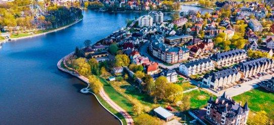 Russisches Kaliningrad an der Ostsee