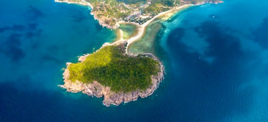 Koh Phangan im Golf von Thailand