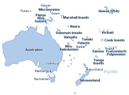 Flug Australien & Pazifik günstig buchen! Ab-in-den-Urlaub.de