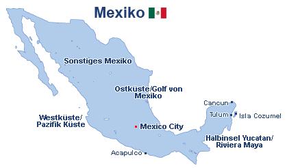 Flug Mexiko Günstig Buchen Ab In Den Urlaubde